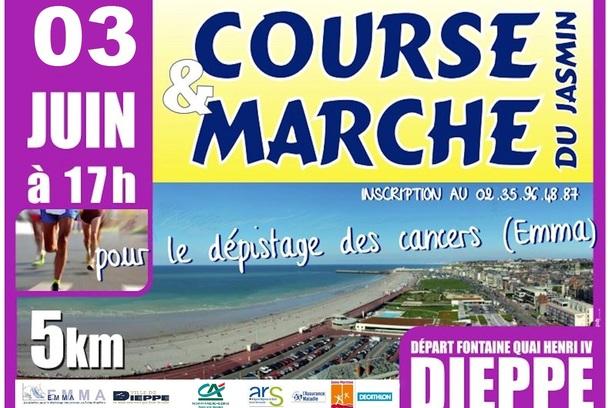 Geaj6char0b affiche course dieppe